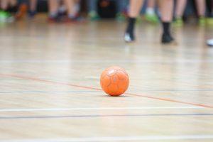 handball, orange, ball